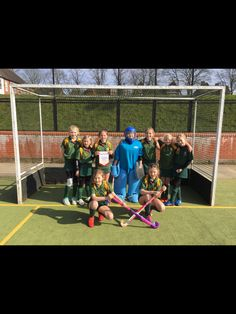 U11girls Staffordshire hockey champions - well done! #abbotsholmeschool #hockey #sport