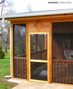 Screened-in decks and screen patio enclosures offer a safe spot for children to play, the family pet to enjoy fresh air, a cozy place for 'me time' or outdoor entertaining.