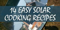 When TSHTF, you may not be able to use your oven, but you may be able to use a solar cooker which yo Survival Food, Emergency Preparedness, Hurricane Preparedness, Urban Survival, Homestead Survival, Survival Tips, Oven Recipes, Cooker Recipes, Lunch Recipes