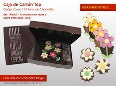 ¡Ayer comenzó a la primavera y hoy es el Día Mundial del Árbol! ¿Ya sabes forma de flor de nuestro chocolate? Popcorn Maker, 1, Chocolate Candies, Bonbon, The Originals, Messages, Ideas, Happy, Chocolate Flowers
