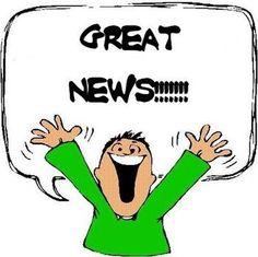 When I get good news, I feel ... I think ... I ....(what do you do?)