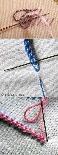 красивая вышивка секретики