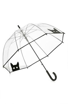 Cat peek-a-boo umbrella | theglitterguide.com