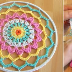 How To Crochet Dreamcatcher