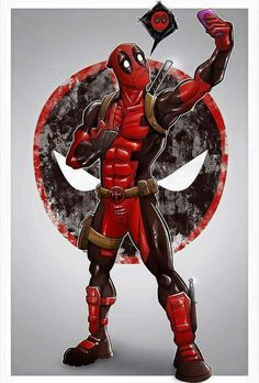 Deadpool poster by on DeviantArt Films Marvel, Marvel Art, Marvel Dc Comics, Marvel Characters, Marvel Heroes, Marvel Avengers, Deadpool Art, Deadpool Funny, Deadpool And Spiderman