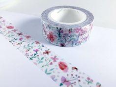 Pink Flower Washi Tape