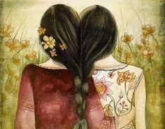 Todos sabemos que una amistad no crece por la presencia de las personas, sino por la magia de saber que aunque no las veas las llevas en el corazón. Puede que llevemos años sin vernos y que, cuando lo hagamos, el tiempo no haya pasado.