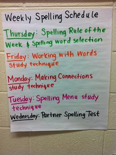 Middle School Spelling: blog post on how to get it implemented in your middle school classroom.