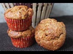 YUMMY TUMMY: Healthy Banana Oats Muffins Recipe - Eggless Banana Oats Muffins Recipe