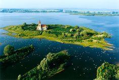 Dam Nové Mlýny III, river Dyje, Morava, Czech republic