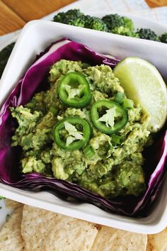 Jalapeno Guacamole (with Kale)