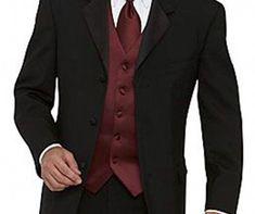 Mens Dark Orange Dinner Party Prom Wedding Suit Groom Tuxedos Suit Custom #22