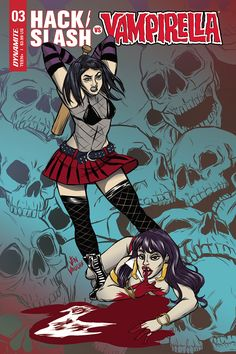 HACK SLASH VS VAMPIRELLA #3