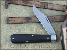 CollectorKnives - Great Eastern Cutlery Boys Knife Clip Jack 1Blade Tidioute Ebony Wood, $64.28 (http://www.collectorknives.net/great-eastern-cutlery-boys-knife-clip-jack-1blade-tidioute-ebony-wood/)