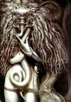 Danzig - Danzig III: How The Gods Kill (1992) From H.R Giger's 1976 painting Meister Und Margeritha. Sample