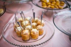 mini peach cobbler | Scobey Photography