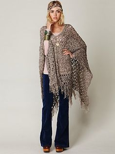 i wish i could crochet :( i love, love, love this poncho!!!!!