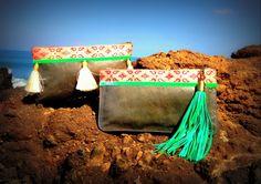 Bohemian style clutch #indy #ibiza Bags #clutch #fringe www.indyibiza.com