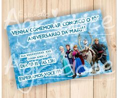 Convite Virtual Frozen