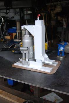 """Miller - Welding Projects - Idea Gallery - """"Toe"""" Jack Milling Machine"""