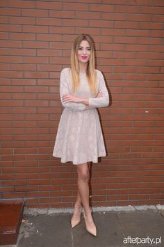 Marcelina Zawadzka w czółenkach Kazar #collection #designer #moda #style #shoes #boots #Fashion #szpilki #wiosna #highfashion #woman #man #trend #comfort #trendy #fashionable #stylish #vogue