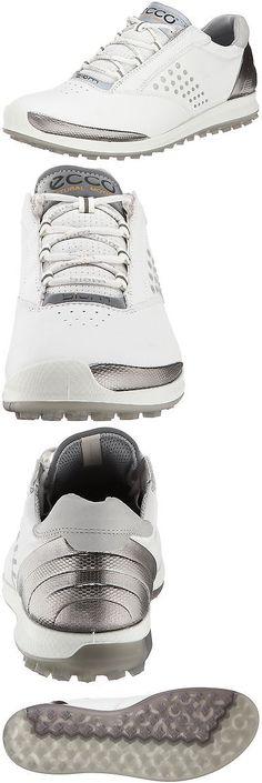 Other Womens Golf Clothing 181152: Ecco Women S Biom Hybrid 2 Golf Shoe White Silver 41 M Eu 10-10.5 B(M) Us -> BUY IT NOW ONLY: $237.95 on eBay!