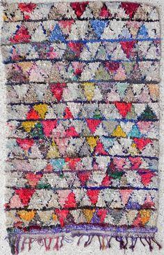 Boucherouite Rug 2#6 - 7 x 4.5