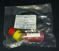 MS3476L12-10S with contacts and tool New sealed in plastic bag. NOS #Matrix