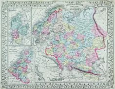 1881 Russia in Europe Sweden and Norway S Mitchell Jr Russia
