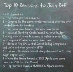 Join my team! From the makers of Proactiv. They know skincare! Visit blakesparks.myRandF.com and message me for info and discounts!
