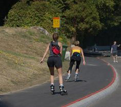 Roller blading. Forget the roller skates of your childhood, these days roller blading is a fast-growing – and fun – fitness activity