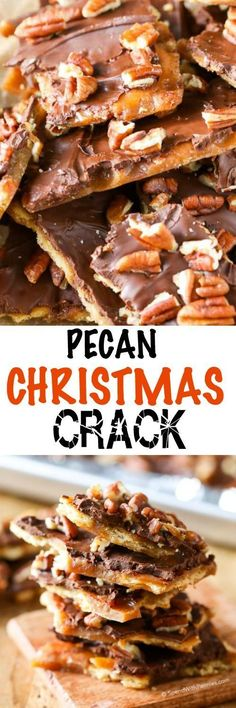 Let's Celebrate // Yummy Pecan Christmas Crack.