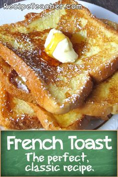 perfect French Toast at home with this classic recipe.Make the perfect French Toast at home with this classic recipe.the perfect French Toast at home with this classic recipe.Make the perfect French Toast at home with this classic recipe. Breakfast And Brunch, Breakfast Dishes, Good Breakfast Ideas, Bacon Breakfast, Health Breakfast, Breakfast Smoothies, Perfect French Toast, Make French Toast, Simple French Toast Recipe