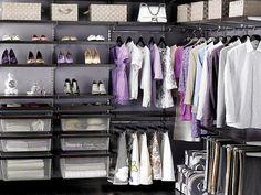 closet organization ideas   ... -Closet-Organization-Ideas-Elfa-Walnut-Master-Closet-Organizing-Ideas