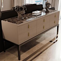 Art Deco Inspired High End 6 Drawer Buffet Sideboard at Juliettes Interiors - Chelsea, London. Modern Oak Sideboard, Luxury Furniture, Decor, Sideboard Designs, Furniture, Buffet Furniture, Interior, Bedside Table Design, Sideboard Buffet