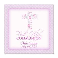 First Communion Gift Tag - First Communion Girl Gift Tag - Purple Girl First Communion Gift Tag - Lilac and Pink First Communion Gift Tag by artisacreations on Etsy https://www.etsy.com/listing/125384010/first-communion-gift-tag-first-communion