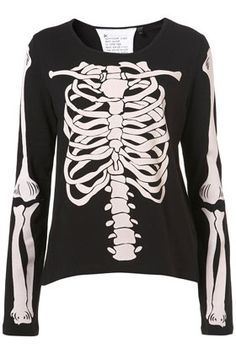Skeleton Tee By Tee And Cake