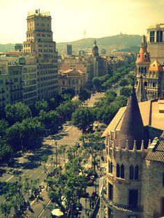 """""""Passeig de Gràcia. Barcelona, Catalunya"""""""