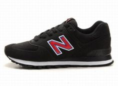 Joes New Balance MS574UF Red Black Sonic Mens Shoes