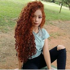 15 Amazing Longcurly Hair You Can Try Curly Hair Tips, Long Curly Hair, Curly Hair Styles, Natural Hair Styles, Flame Hair, Long Curls, Ginger Hair, Hair Journey, Hair Hacks