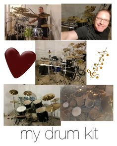 """My drum kit"" by snow-magic ❤ liked on Polyvore featuring men's fashion, menswear and music"