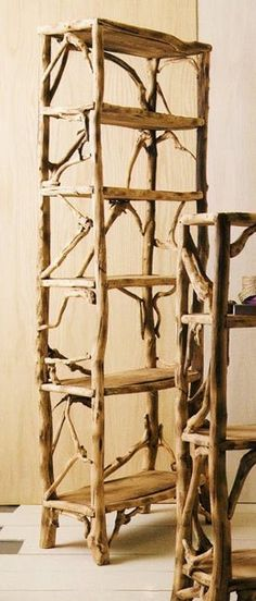 The Most Captivating Manifestations Of Driftwood Furniture That Will Win Your Heart - DIY Aspects Willow Furniture, Fairy Furniture, Dollhouse Furniture, Furniture Projects, Furniture Makeover, Wood Projects, Furniture Design, Driftwood Table, Driftwood Furniture