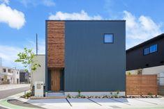 Exterior Design, Interior And Exterior, Box House Design, Japanese Modern House, Black House Exterior, Compact House, Box Houses, Loft Design, Architecture Design