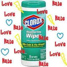 "Homemade ""clorox"" wipes. I use Clorox wipes on a daily basis, this can save so much money! Plus no nasty chemicals meaning the kids can use them too!"