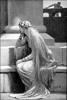In Norse mythology, Sif is a goddess associated with earth.  In both the Poetic Edda and the Prose Edda, Sif is the wife of the god Thor and is known for her golden hair.