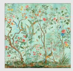 CHINOISERIE PRINTS FIND THEIR WAY INTO GUCCI'S SPRING COLLECTION AND ONTO PORCELAIN TILES — www.stylebeatblog.com