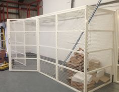 Ideal solution for storage units, IT rooms, workshop & warehouse applications, our security cages & enclosures is the answer to your problem. Cage, Warehouse, Divider, The Unit, London, Storage, Spring, Home Decor, Homemade Home Decor