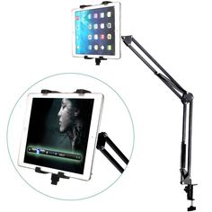 Tablet Long Arm Stand Desktop Bed Clamp Holder Stand For iPad Mini Tablet PC #UnbrandedGeneric