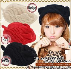 Cute Japanese cat hat