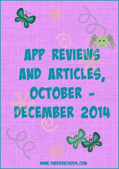 The Book Chook: October - December 2014 Children's iPad App Reviews